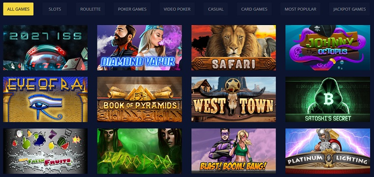 betchain bitcoin casino games