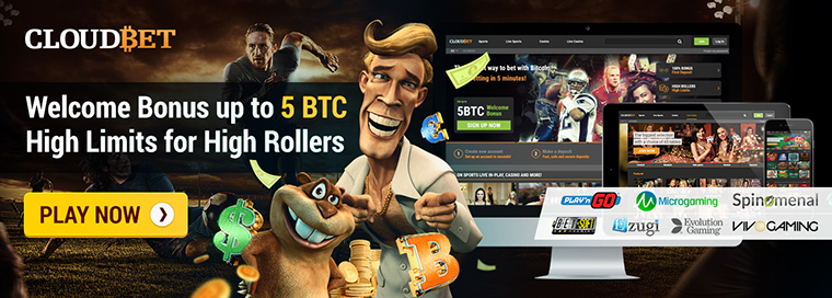 cloudbet bitcoin casino bonus