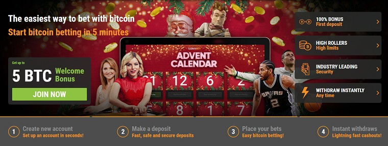 cloudbet bitcoin casino registration