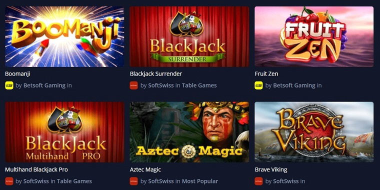 mbit bitcoin casino games