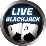 bitcoin live blackjack logo