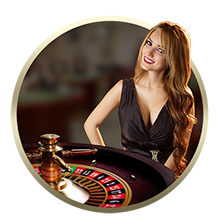 bitcoin live casino dealer girl