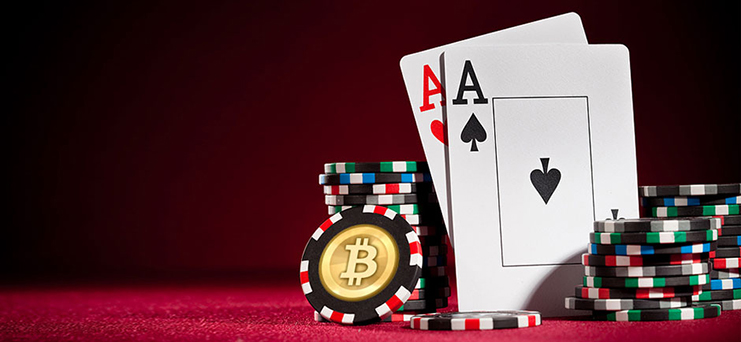bitcoin casino and card