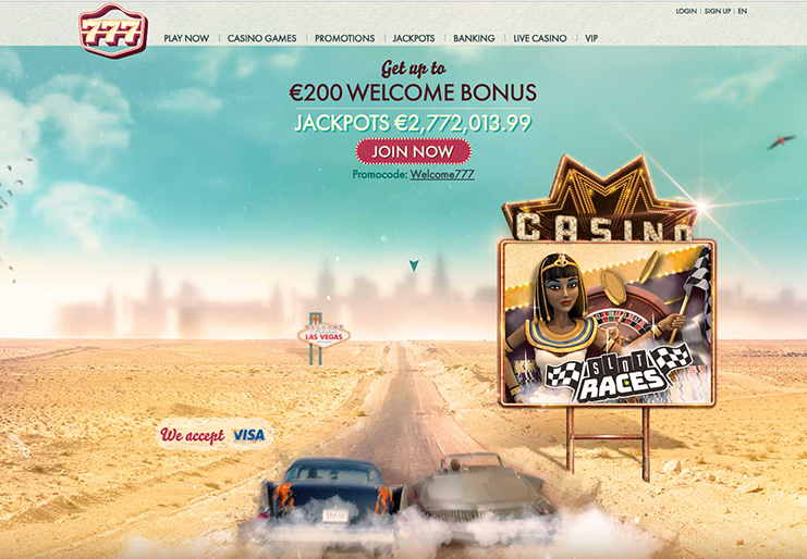 777 casino website