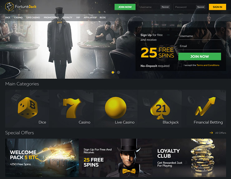 Fortunejack casino review real
